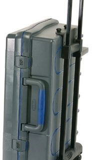 ServiceCase 10-Plus Trolley, Sleutel,antraciet/blauw/trans