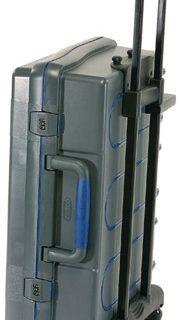 ServiceCase 10-Plus Trolley,code, Antraciet/blauw/antracie