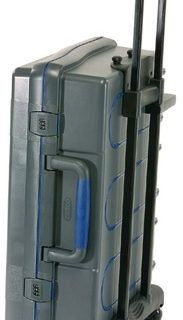 ServiceCase 10-Plus Trolley, Code, Antraciet/blauw/transpa