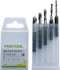 Boorcassette BKS D 3-8 CE/W-K