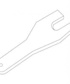 6605-40 Platte Sleutel