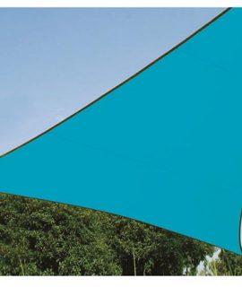 ZONNEZEIL – DRIEHOEK – 3.6 X 3.6 X 3.6 M – KLEUR: HEMELSBLAUW